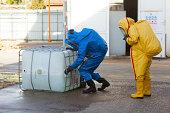 HAZMAT team, identify dangerous materials