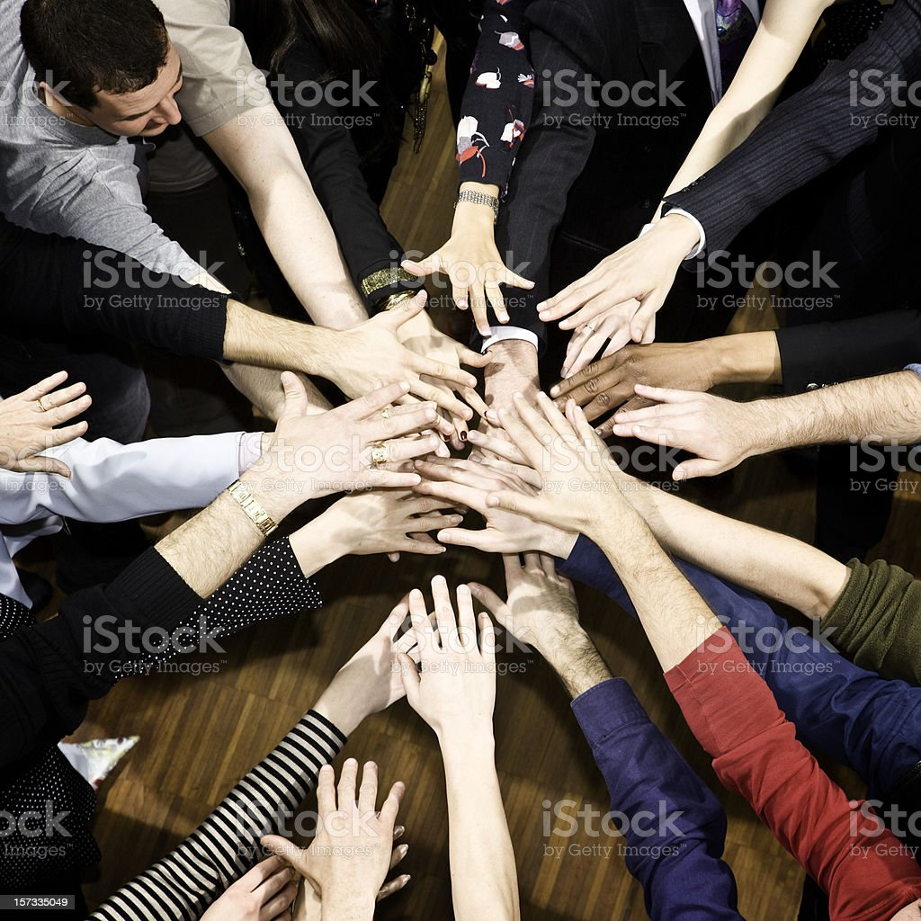 Team Players royalty-free stock photo