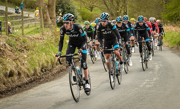 Team Sky Tour de Yorkshire 2015 stock photo