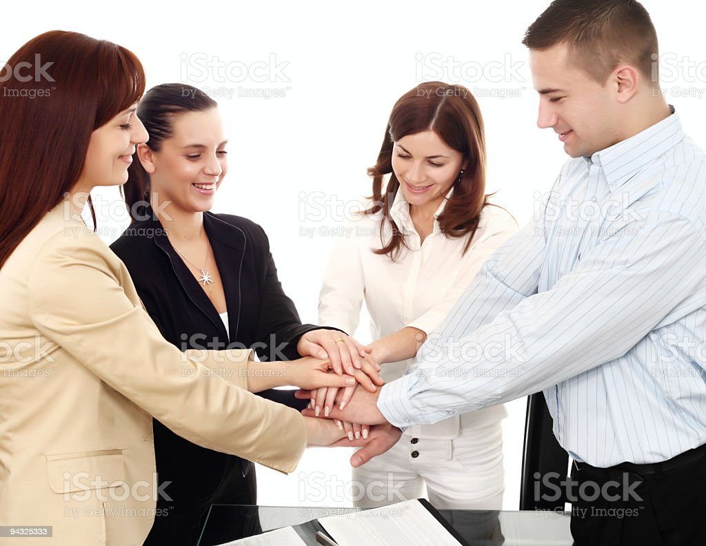 Team spirit . royalty-free stock photo