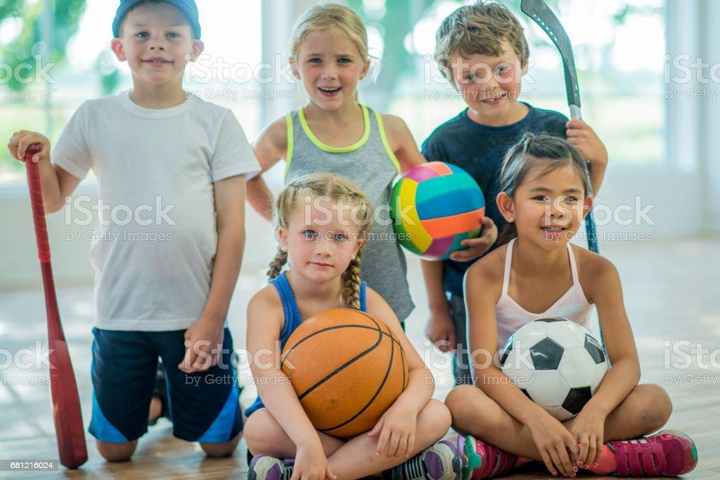 Team Sports royalty-free stock photo