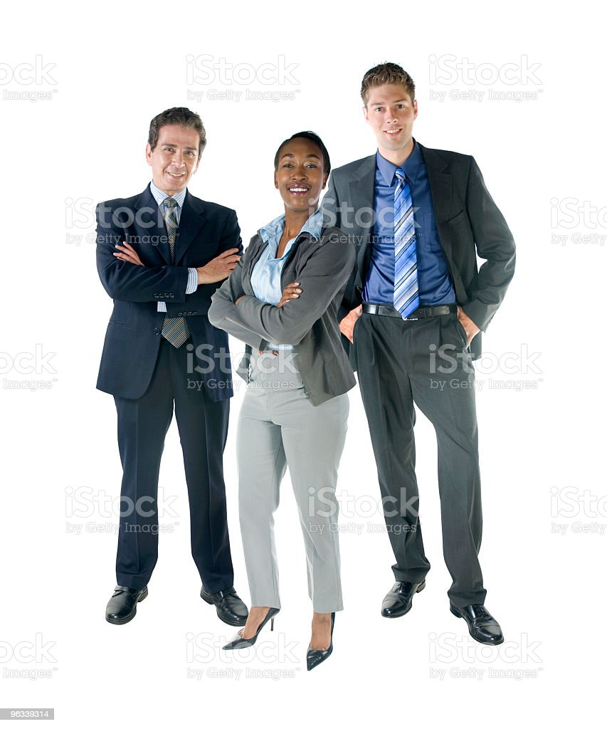 Team Together royalty-free stock photo