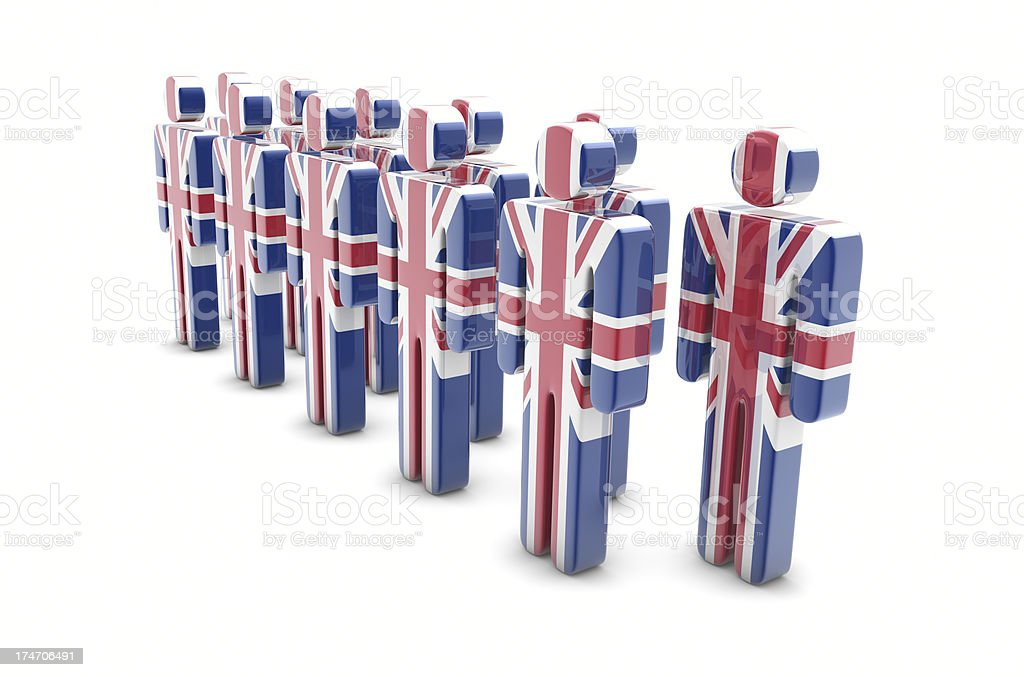 Team United Kingdom stock photo