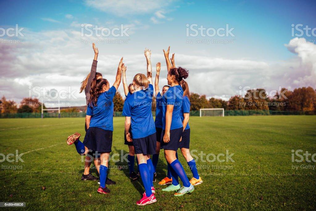 Team Victory stock photo