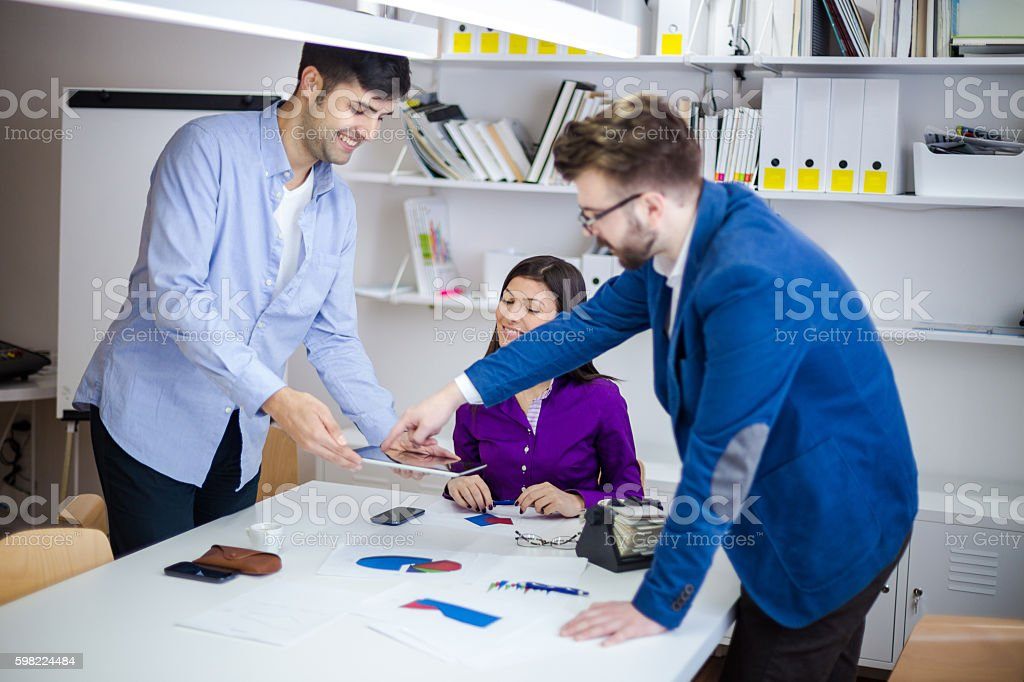 Team work as the key of success foto royalty-free