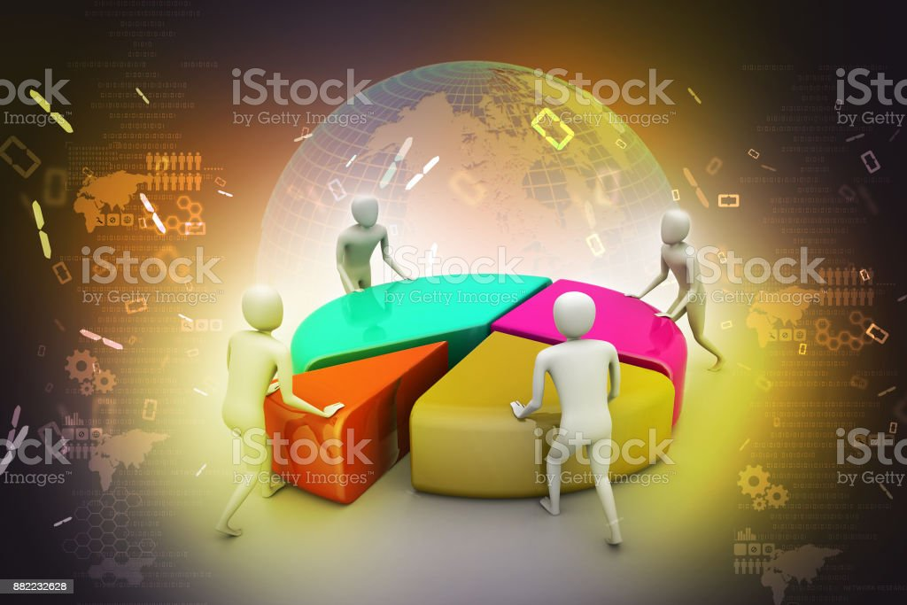 Team work, business concept stock photo