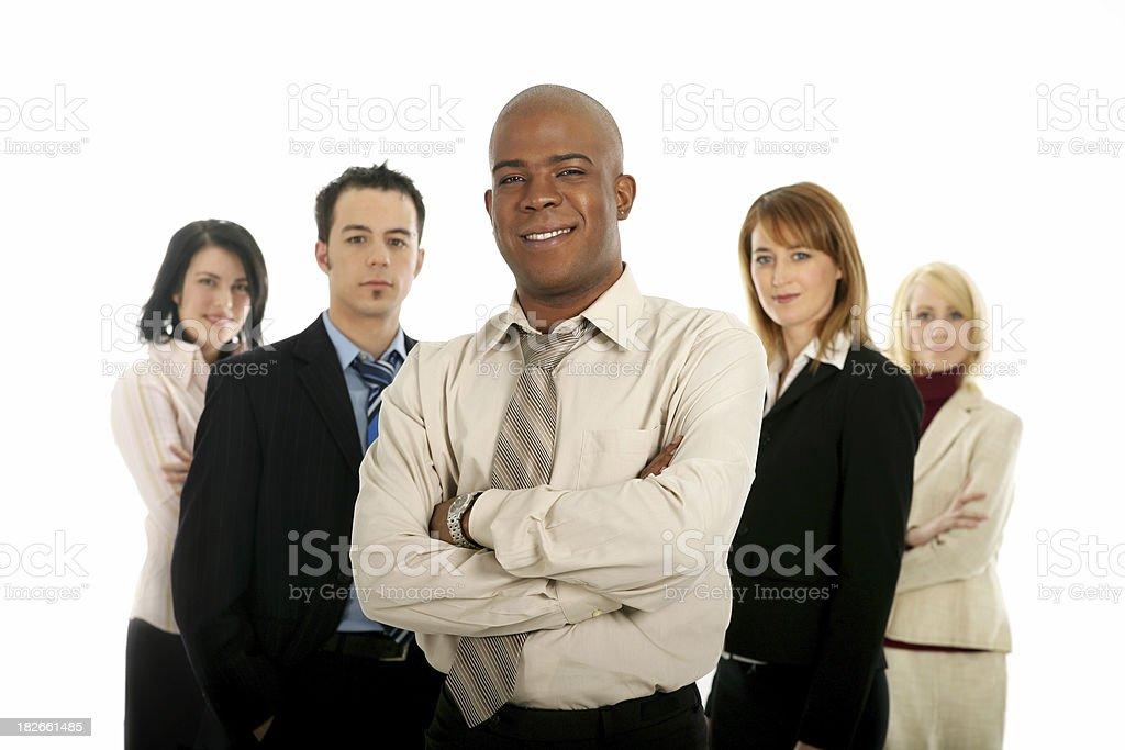 Team work I royalty-free stock photo