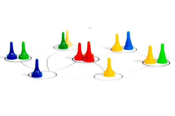 team-work-netzwerk-konzept - soziologie stock-fotos und bilder