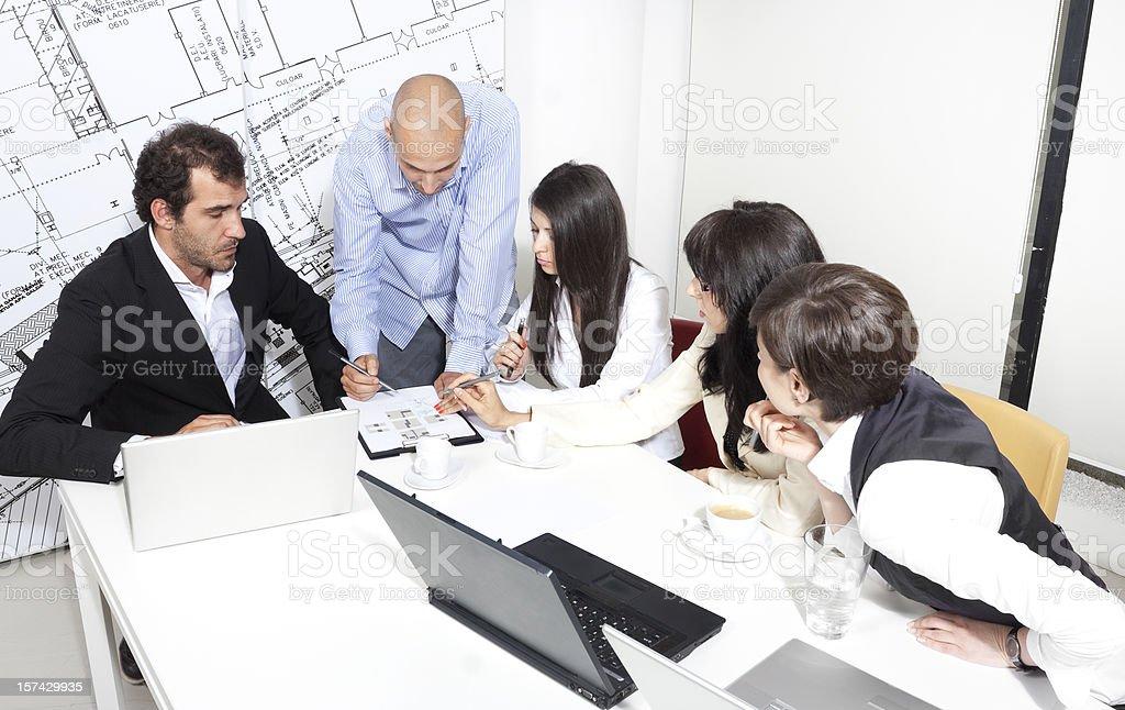 Team work royalty-free stock photo