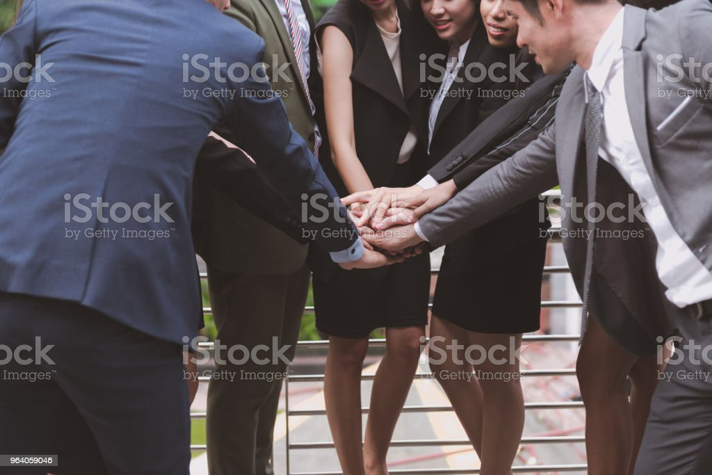 Team work. - Royalty-free Adult Stock Photo