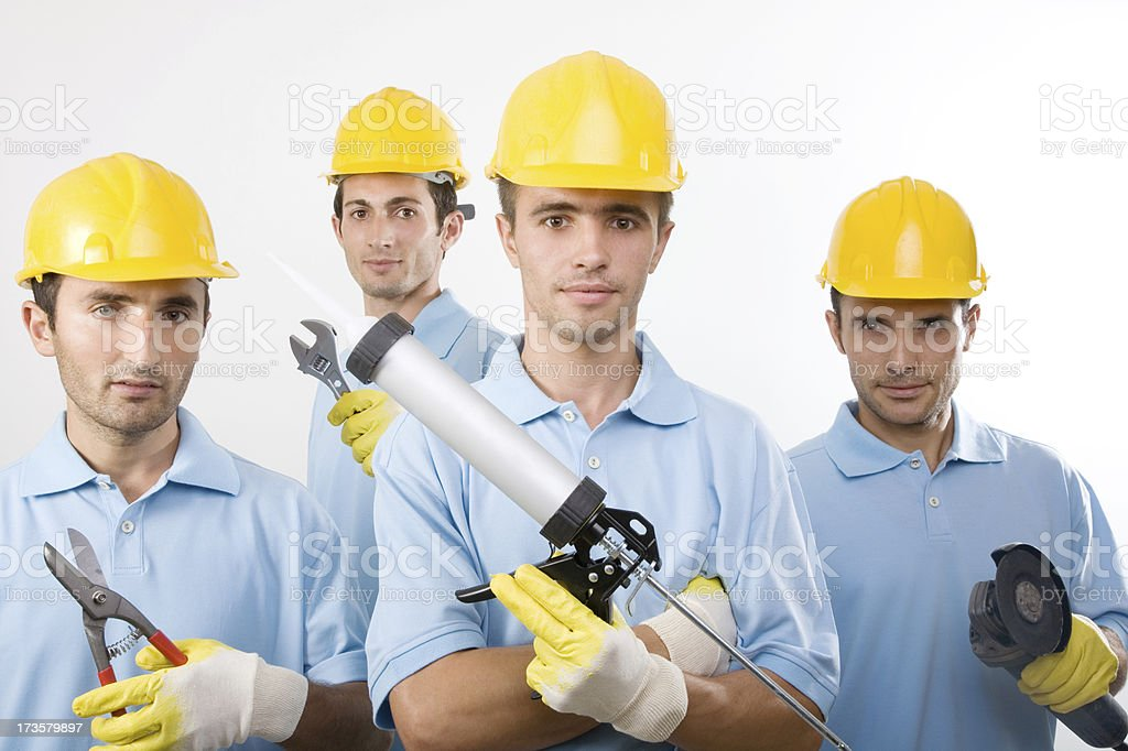 Team Worker royalty-free stock photo