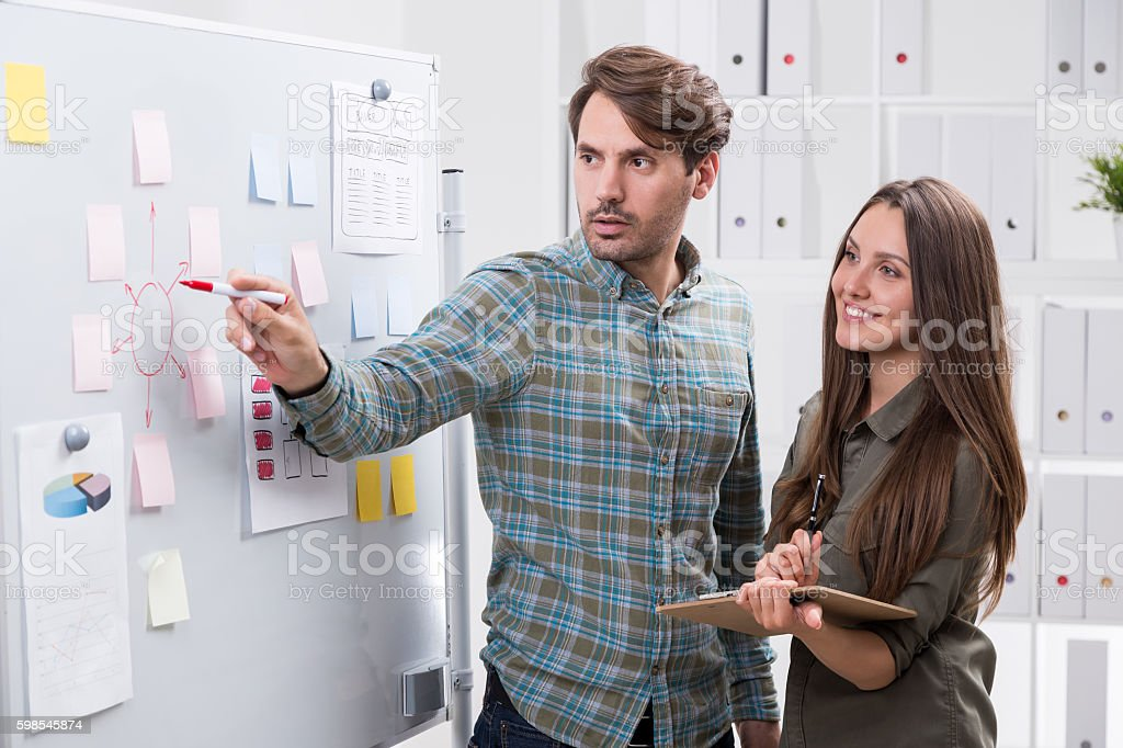 Team workers in office photo libre de droits