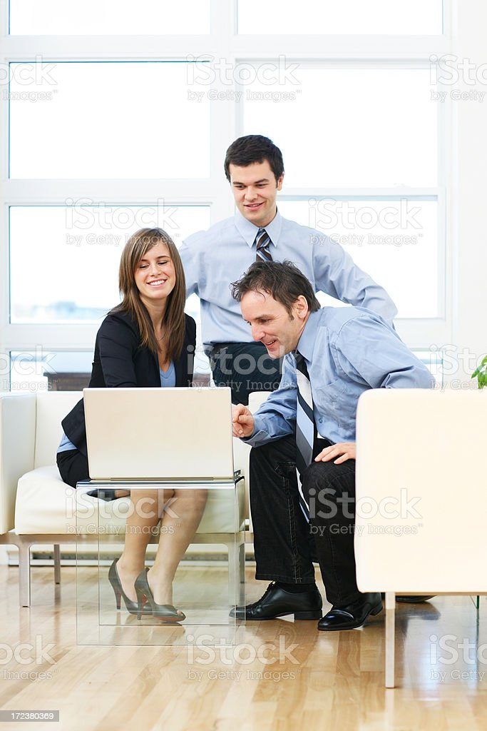 Team working royalty-free stock photo