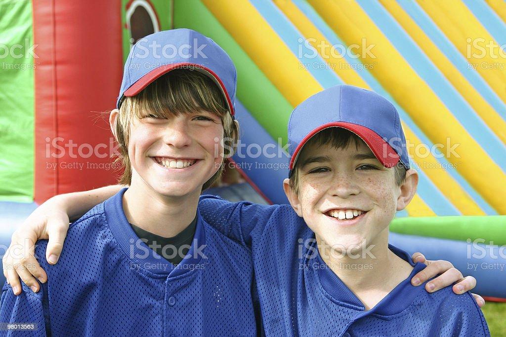 Teammates royalty-free stock photo