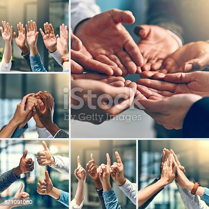 888892364istockphoto Teams are built by teamwork 871091080