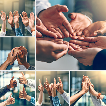888892364 istock photo Teams are built by teamwork 871091080