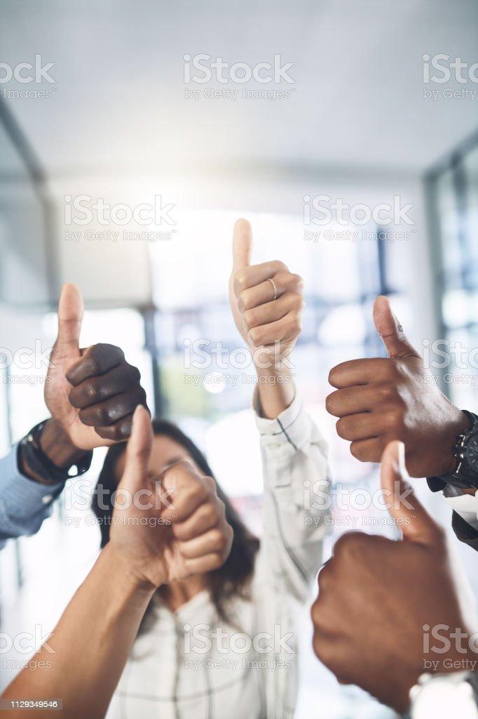 Teamarbeit ermöglicht es Ihnen, die beste Arbeit zu produzieren – Foto