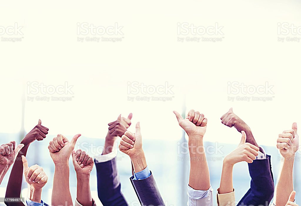 Teamwork always wins the day stock photo