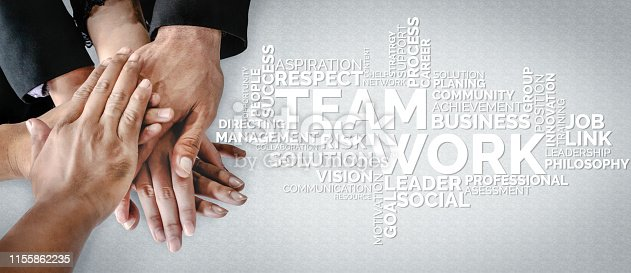 937843262 istock photo Teamwork and Business Human Resources Concept 1155862235
