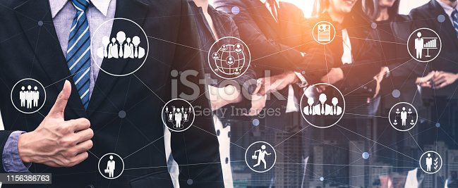 937843262 istock photo Teamwork and Business Human Resources Concept 1156386763