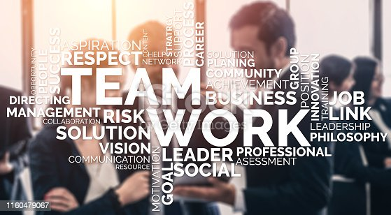 937843262 istock photo Teamwork and Business Human Resources Concept 1160479067