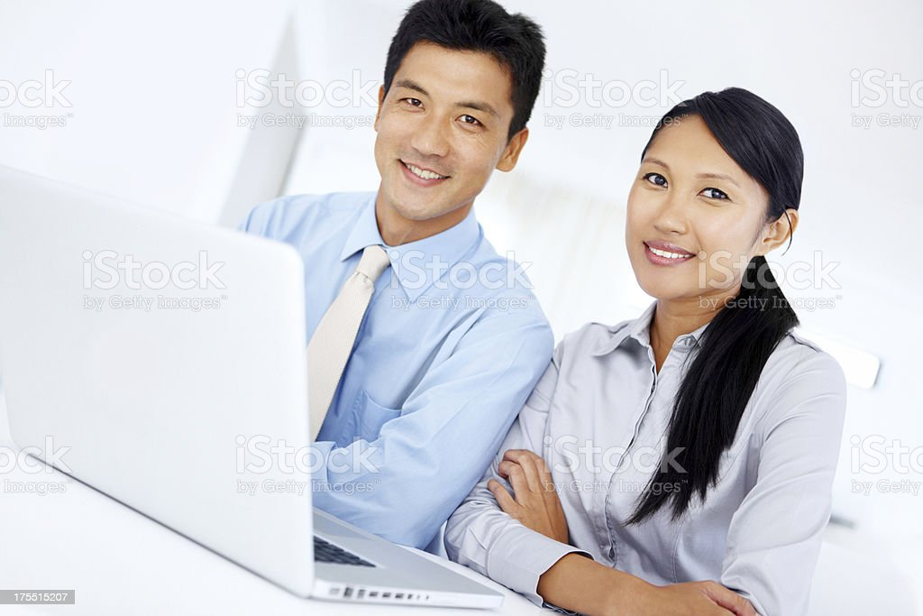 Teamwork and collaboration - Quality Output royalty-free stock photo