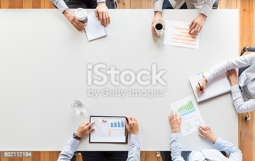 istock Teamwork and meeting concept. 832112194