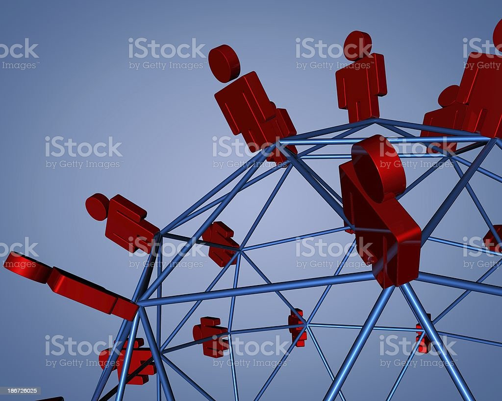 teamwork and mlm concept background stock photo