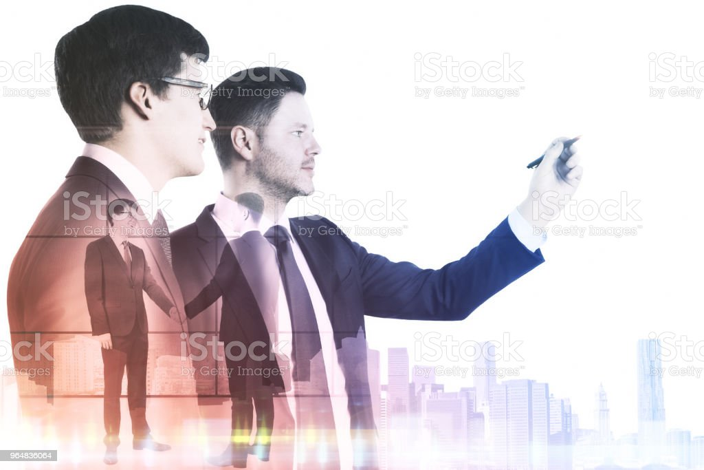 Teamwork and success concept royalty-free stock photo