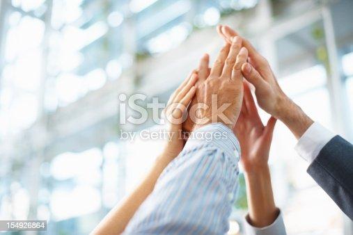 istock Teamwork and team spirit 154926864