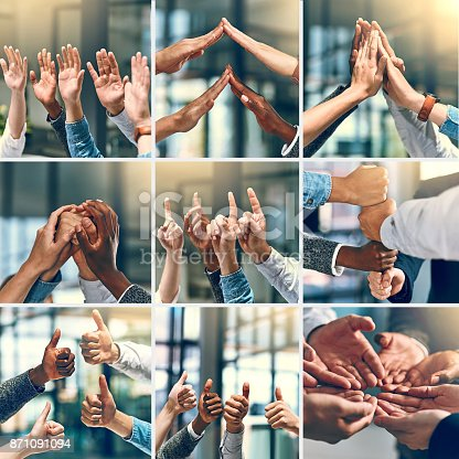 888892364istockphoto Teamwork brings one closer to success 871091094