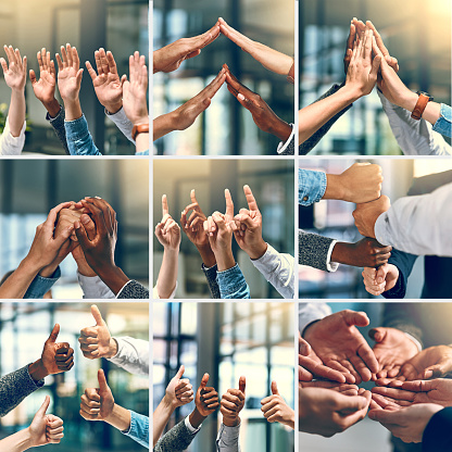 888892364 istock photo Teamwork brings one closer to success 871091094