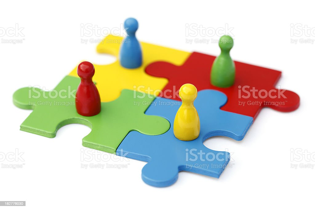 Teamwork Concept royalty-free stock photo