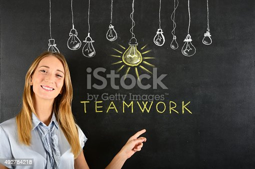 539247613istockphoto Teamwork concept 492784218