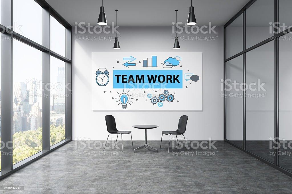 Teamwork concept royaltyfri bildbanksbilder