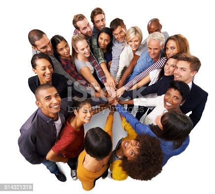 514325215 istock photo Teamwork divides the task and multiplies success 514321319