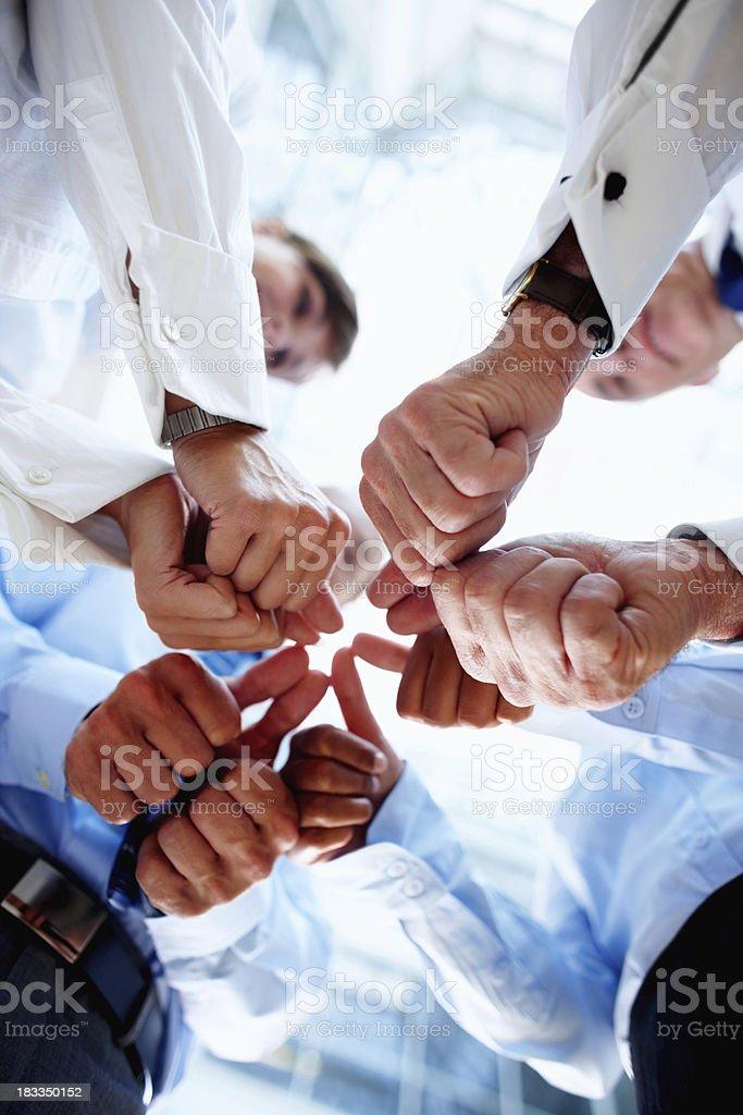 Teamwork equals success royalty-free stock photo