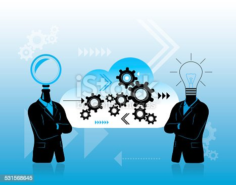 istock Teamwork for progress and problem solving 531568645