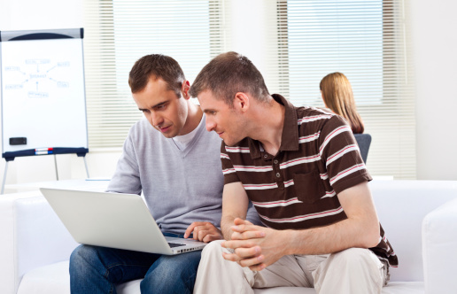 Teamwork In Creative Agency Stock Photo - Download Image Now