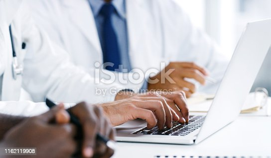istock Teamwork is essential in the medical profession 1162119908
