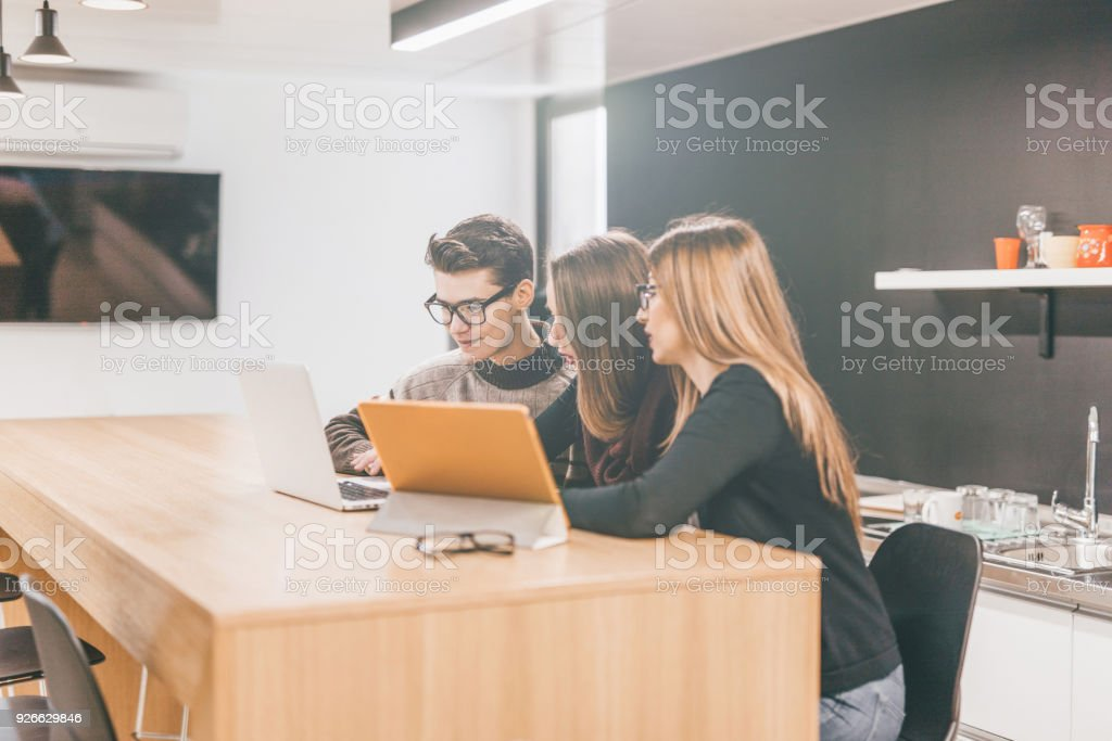Teamwork is the best stock photo