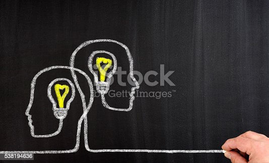 istock Teamwork Light Bulbs 538194636