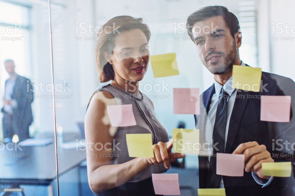 Teamwork makes business successful stock photo