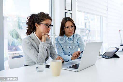 istock Teamwork makes good business great business 1011936080