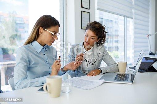 istock Teamwork makes good business great business 1161348244