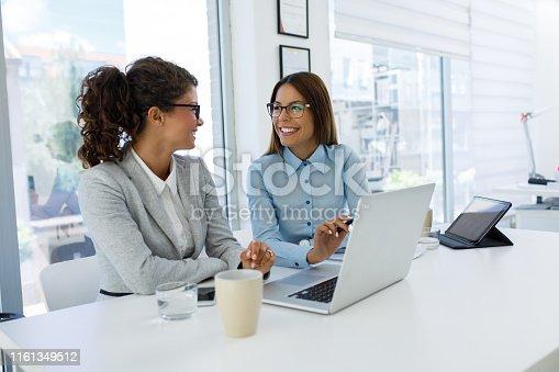 istock Teamwork makes good business great business 1161349512