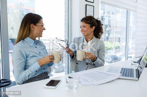 istock Teamwork makes good business great business 1161561531