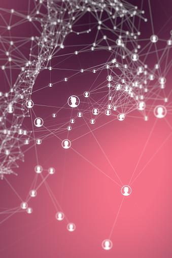 teamwork or social media backgrounds