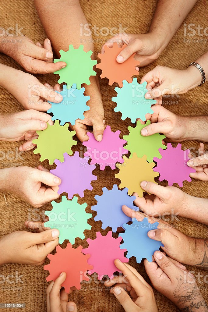 Teamwork - Royalty-free A Helping Hand Stock Photo