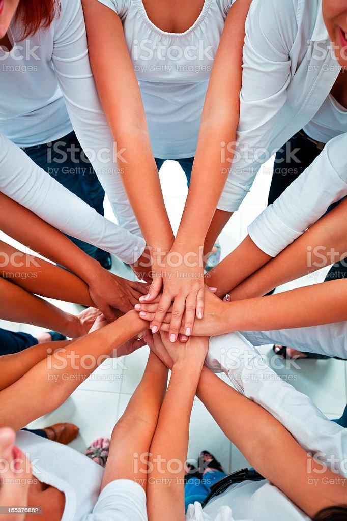 Teamwork  Adult Stock Photo